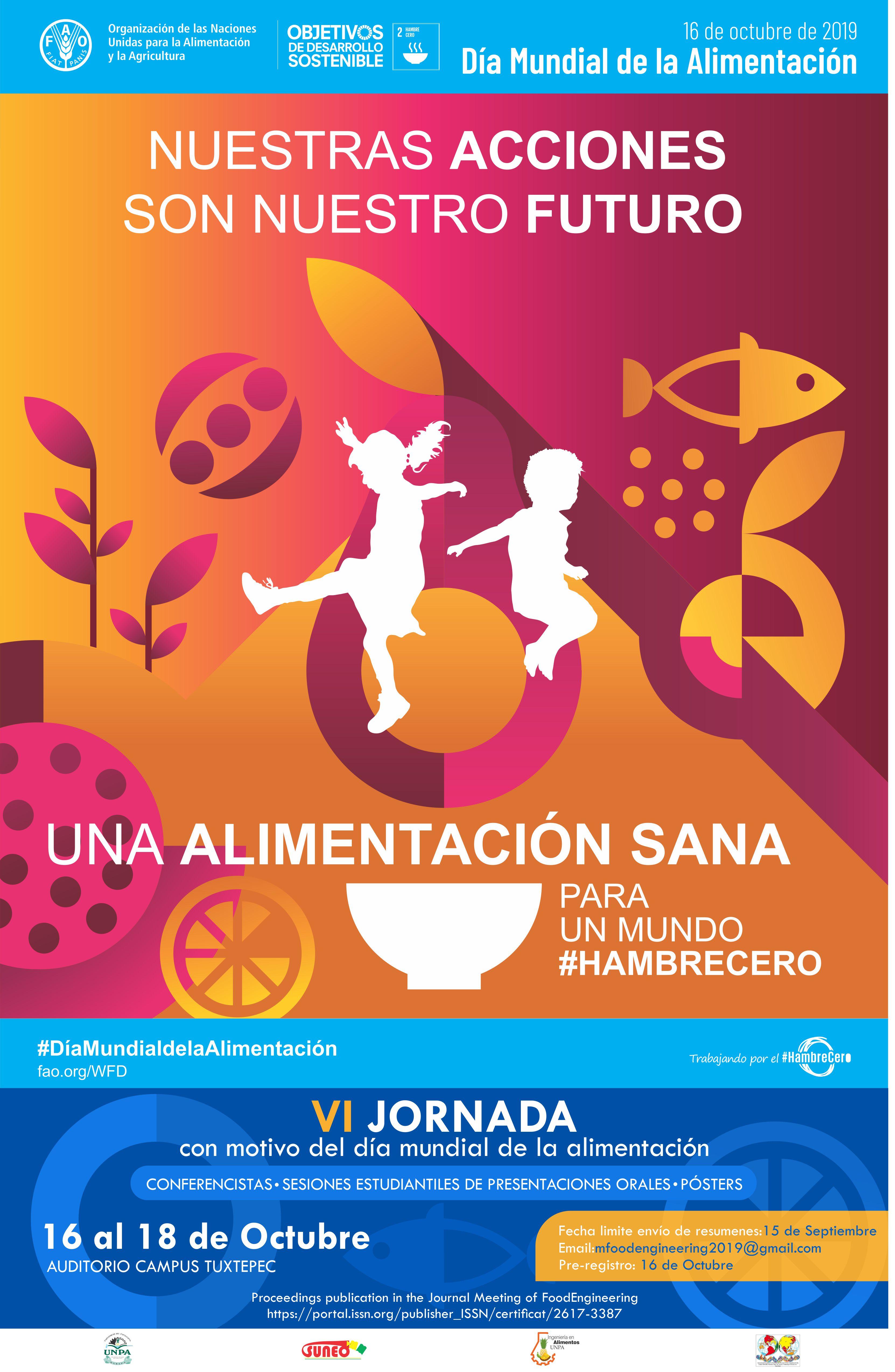 Iv Jornada Con Motivo Del Dia Mundial De La Alimentacion Sociedad Mexicana De Biotecnologia Y Bioingenieria